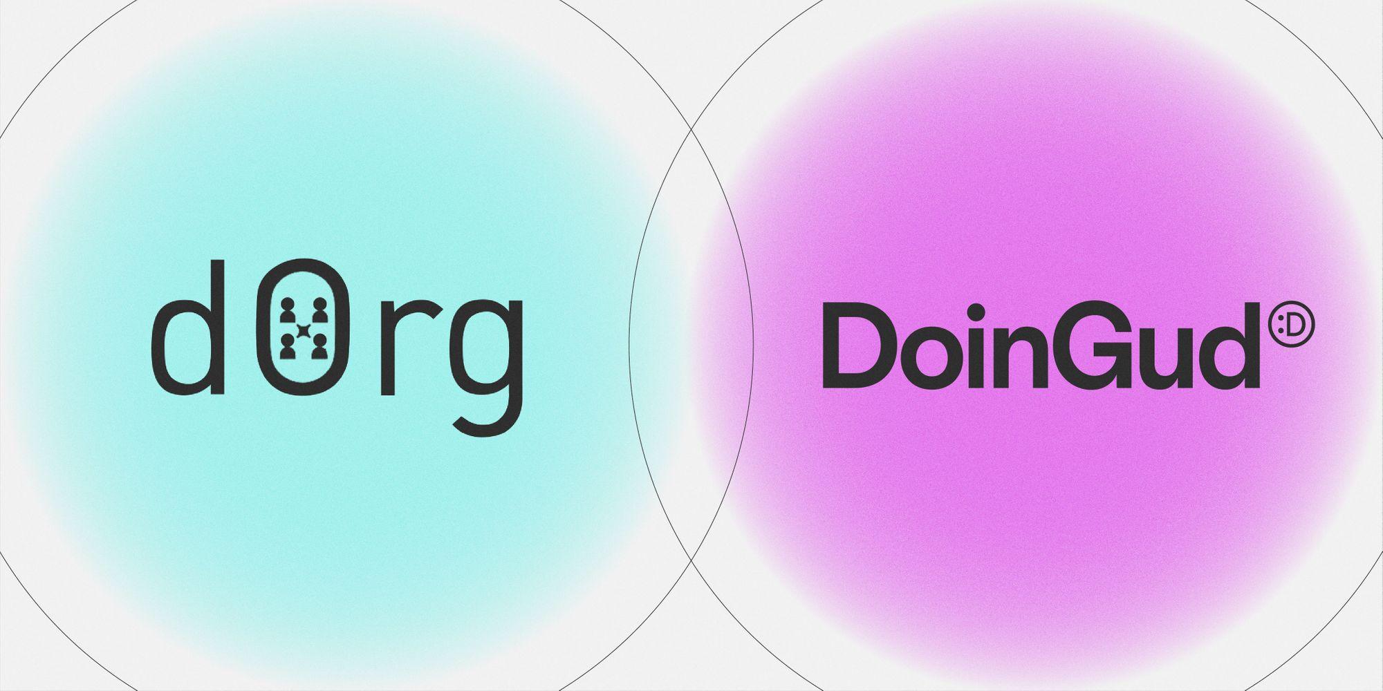 dOrg and DoinGud Establish A Technical Partnership