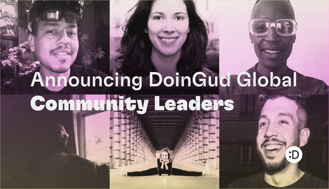 Announcing DoinGud Global Community Leaders