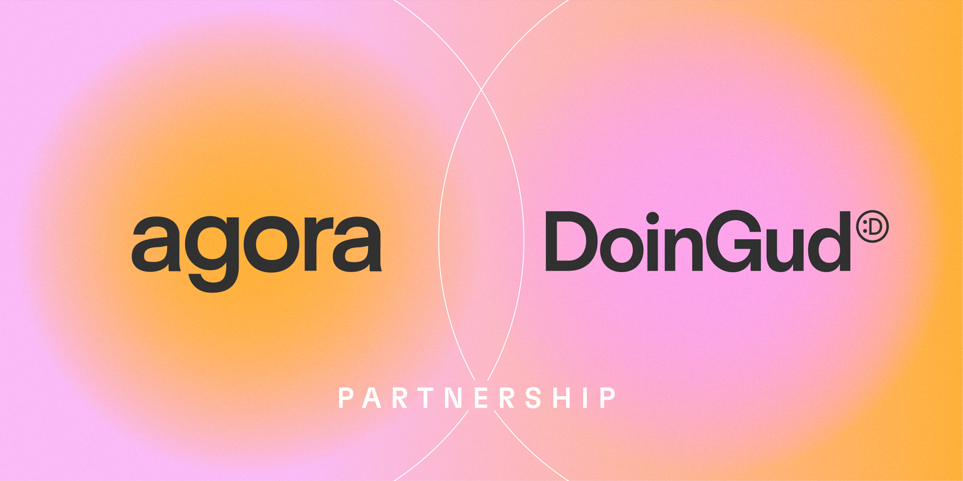 DoinGud Partners With Agora, a Multi-Million User Photo Platform